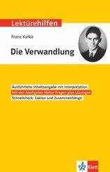 Lektürehilfen Franz Kafka 'Die Verwandlung'