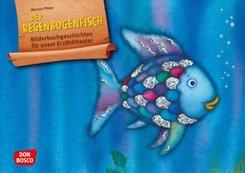 Der Regenbogenfisch, m. schillernden Schuppen. Kamishibai Bildkartenset.