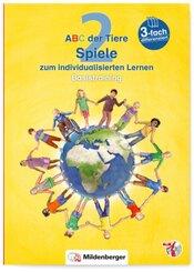 ABC der Tiere, Neubearbeitung 2016: 2. Schuljahr, Spiele zum individualisierten Lernen · Basistraining, m. CD-ROM