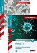 Abitur-Training Biologie Baden-Württemberg, 2 Bde. - Bd.1+2