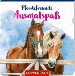 Pferdefreunde: Ausmalspaß