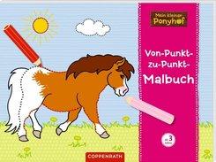 Mein kleiner Ponyhof: Von-Punkt-zu-Punkt-Malbuch