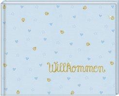Babyalbum - Willkommen, Hellblau