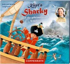 Käpt'n Sharky und die geheimnisvolle Nebelinsel, Audio-CD