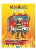Malbuch Feuerwehr, m. 2 Spielzeugen