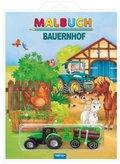 Malbuch Bauernhof, m. Spielzeug
