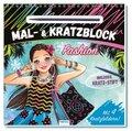 """Mal- und Kratzblock """"Fashion"""""""