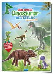 Mein erster Dinosaurier Weltatlas, Stickerbuch
