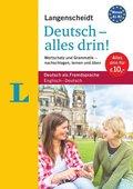 Langenscheidt Deutsch - alles drin! - Basiswissen Deutsch in einem Band