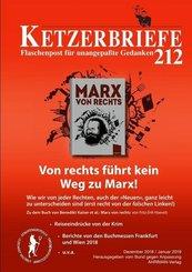Ketzerbriefe: Von rechts führt kein Weg zu Marx!; 212