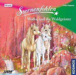 Sternenfohlen - Wolke und die Waldgeister, 1 Audio-CD