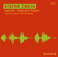 Leporella/Vergessene Träume, 1 Audio-CD