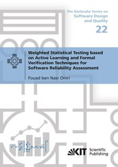 Weighted Statistical Testing based on Active Learning and Formal Verification Techniques for Software Reliability Assess