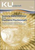 Deutsche Kodierrichtlinien Psychiatrie/Psychosomatik 2019