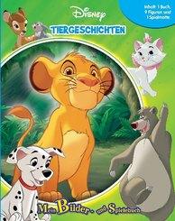 Disney Tiergeschichten, Spielbuch + Spielfiguren + Spielmatte