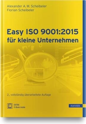Easy ISO 9001:2015 für kleine Unternehmen