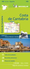 Michelin Karte Costa de Cantabria
