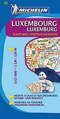 Michelin Karte Luxemburg; Luxembourg
