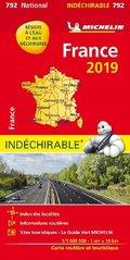 Michelin Karte Frankreich 2019 (widerstandsfähig)