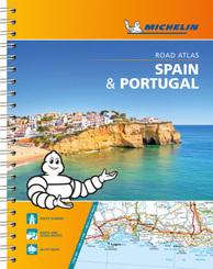 Michelin Straßenatlas Spanien & Portugal mit Spiralbindung; Spain & Portugal