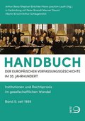 Handbuch der Europäischen Verfassungsgeschichte im 20. Jahrhundert - Bd.5