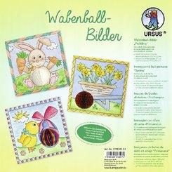 "URSUS 6 Wabenball-Bilder ""Frühling"""