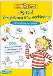 Conni Gelbe Reihe (Beschäftigungsbücher): Logisch! Vergleichen und verbinden