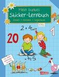 Mein buntes Sticker-Lernbuch: Zahlen, Rechnen, Logikrätsel