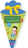 Rätselspaß zum Schulanfang mit Stickern (Schultüte für Jungen)