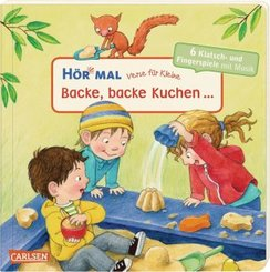 Hör mal - Verse für Kleine: Backe, backe Kuchen ..., m. Soundeffekten