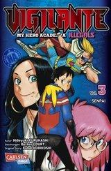 Vigilante - My Hero Academia Illegals - Senpai