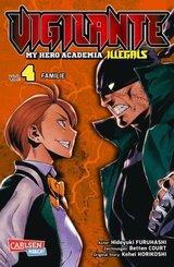 Vigilante - My Hero Academia Illegals - Familie