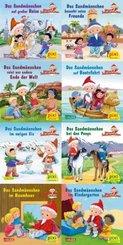 Pixi Bücher: Pixi-8er-Set 265: Das Sandmännchen unterwegs (8x1 Exemplar), 8 Teile