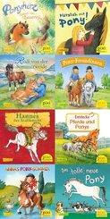 Pixi Bücher: Pixi-Buch 2351-2358 (Ponygeschichten mit Pixi), 8 Hefte; 259