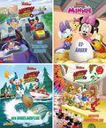 Micky und die Flinken Flitzer, 4 Hefte - Nr.1-4
