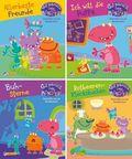 Gut gebrüllt, liebe Monster! Geschichten aus der Monsterschule, 4 Hefte - Nr.1-4