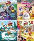 Disney Micky und die Flinken Flitzer - Nr.1-4 (24 Expl. (4 Titel)