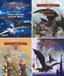Drachenzähmen leicht gemacht 3 - Die geheime Welt - Nr.1-4 (24 Expl. (4 Titel))