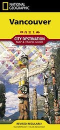 National Geographic City Destination Map Vancouver