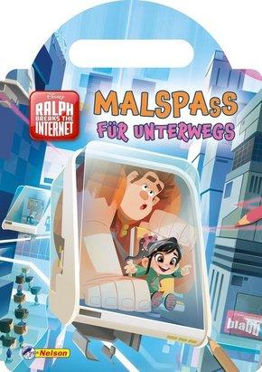 Disney Ralph Breaks the Internet: Malspaß für unterwegs