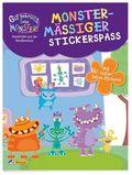 Gut gebrüllt, liebe Monster! Geschichten aus der Monsterschule - Monstermäßiger Stickerspaß