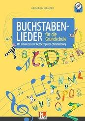 Buchstabenlieder für die Grundschule, m. Audio-CD