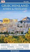 Vis-à-Vis Reiseführer Griechenland, Athen & Festland, m. 1 Karte
