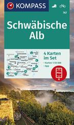 KOMPASS Wanderkarte Schwäbische Alb
