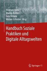 : Handbuch Soziale Praktiken und Digitale Alltagswelten