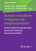 Akzeptanz und politische Partizipation in der Energietransformation