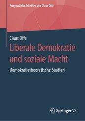Liberale Demokratie und soziale Macht