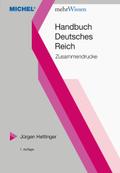 Handbuch Deutsches Reich Zusammendrucke