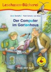 Der Computer im Gartenhaus / Silbenhilfe