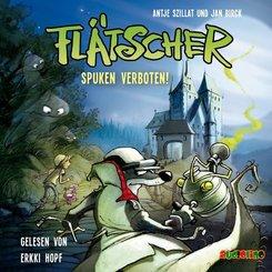 Flätscher - Spuken verboten!, 1 Audio-CD